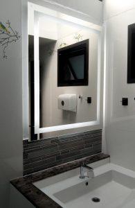 กระจกled ในห้องน้ำ