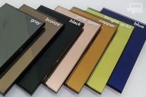 กระจกเงาสี สีมาตรฐาน 7 สี