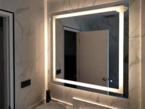 กระจกมีไฟ ไฟวอร์มไวท์
