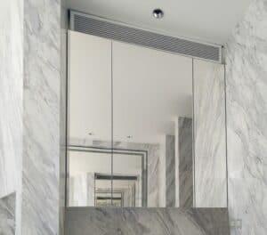 กระจกเงาใสพิเศษห้องน้ำ