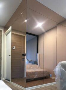 mirror wall กระจกเงาติดผนัง