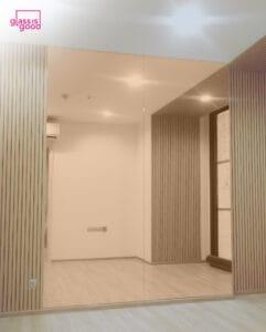 กระจกเงาสี pink gold-01