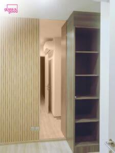 กระจกเงาสี pink gold-02