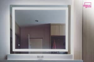 กระจกไฟledทรงสี่เหลี่ยมจัตุรัส