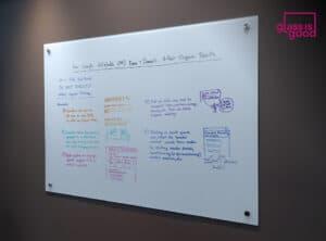 glass whiteboard meeting room