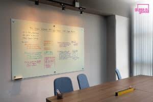 glass whiteboard screen projector