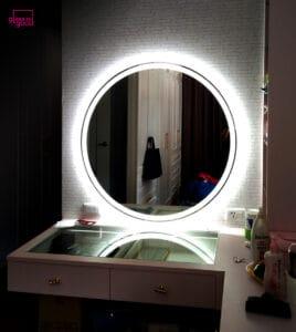 beauty mirror circle