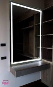 กระจกเงาไฟledแต่งหน้า
