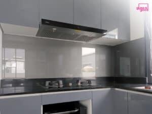 glass wall kitchen