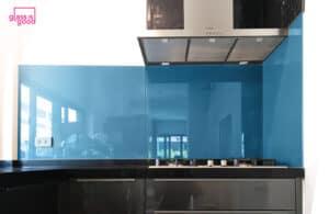 กระจกเคลือบสีห้องครัว